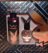 Playboy Play It Spicy 30ml Perfume and 8.30ml Play It Spicy Body Mist..spice Things Up