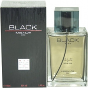 Karen Low Eau De Toilette Spray for Men, Black, 100ml