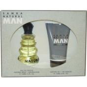 Samba Natural By Perfumers Workshop For Men. Gift Set ( Eau De Toilette Spray 100ml + Shower Gel 130ml).