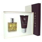 CELINE POUR HOMME by Celine For Men 2 pc Gift Set Eau De Toilette 1.7 + All over Shampoo 100ml