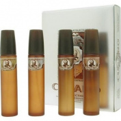 Cubano Variety By Cubano For Men. Set-4 Piece Variety With Cubano Gold, Silver, Bronze & Copper - Each Eau De Toilette Spray 60ml