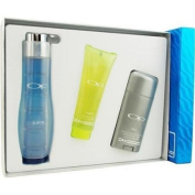 Op Juice By Ocean Pacific For Men. Set-cologne Spray 70ml & Hair And Body Wash 90ml & Deodorant Stick 80ml