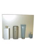 Perry Ellis 18 4pc Gift Set for Men 3.4 Oz Eau De Toilette Spray, 3.0 Oz After Shave Balm, 2.75 Oz Alcohol Free Deodorant Stick, 7.5 Ml Eau De Toilette Spray
