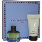 Alessandro Dell Acqua By Alessandro Dell Acqua For Men, Set Edition Spray, 50ml Bottle & Shower Gel, 150ml Bottle