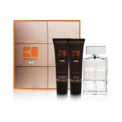 Boss Orange By Hugo Boss for Men 3 Pc.gift SET for MEN 100ml/3.4 Oz Shower GEL 50ml/1.7 Oz