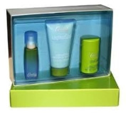 Candies for Men 3pc Set with 15ml Spray 215ml Skin Soother and 1. Oz Deo