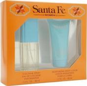 Santa Fe By Santa Fe For Women. Gift Set ( Eau De Toilette Spray 30ml + Body Lotion 50ml ).