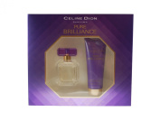 Celine Dion Female Pure Brilliance Gift Set Eau de Toilette Spray 30ml + Body Lotion 75ml