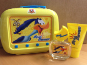 Looney Tunes Road Runner Gift Set 50ml EDT Spray + 75ml Shower Gel + Tin