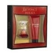 Beyonce Heat 2 Pc. Giftset -  Eau De Parfum   Natural Spray 15ml + Pearl Exfoliating Shower Gel 70ml