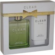Intercity Beauty Company Clear Gift Set for Women, Green