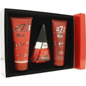 Fred Hayman 273 Red By Fred Hayman For Women. Set-eau De Parfum Spray 70ml & Body Lotion 200ml & Shower Gel 200ml