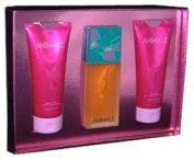 Animale By Parlux Fragrances For Women. Gift Set ( Eau De Parfum Spray 100ml + Body Lotion 200ml + Shower Gel 200ml).