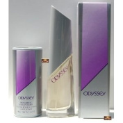 Avon ODYSSEY Eau De Perfume Spray Full Size & Shimmering Body Powder Set