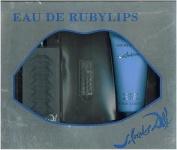 Eau De Ruby Lips by S. Dali Gift Set (3.4 fl. oz. Eau De Toilette + 100ml Body Lotion + 5ml Mini) by Women for Salvador Dali
