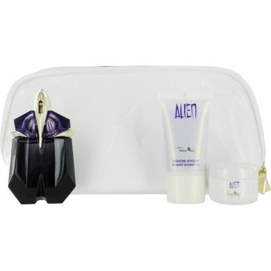 thierry mugler alien gift set for women eau de parfum spray shower gel body cream by thierry. Black Bedroom Furniture Sets. Home Design Ideas