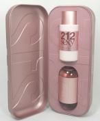 212 Sexy By Carolina Herrera for Women 2pcs Gift Set 100ml EDT Spray + 200ml Body Lotion