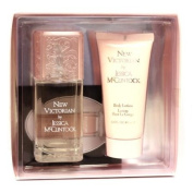 New Victorian By Jessica Mcclintock For Women. Gift Set ( Eau De Parfum Spray 100ml + Body Lotion 90ml).