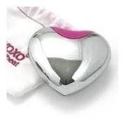 XOXO HeartBeat Heart Shape EDP spray 1.0 oz 30 ml Valentines