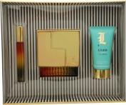 L Lamb By Gwen Stefani For Women Eau De Parfum Spray 100ml & Body Lotion 70ml & Eau De Parfum Rollerball 5ml Mini