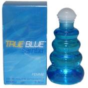 Samba True Blue Perfume by Perfumers Workshop for Women. Eau De Toilette Spray 3.3 oz / 100 Ml