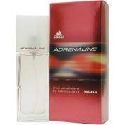 Adidas Adrenaline By Adidas For Women. Eau De Toilette Spray 1.0 Oz / 30 Ml.