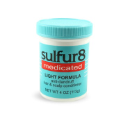 Sulfur8 Anti-Dandruff Hair & Scalp Conditioner, Medicated, Light Formula, 120ml