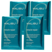 Malibu C Miracle Repair Power Protein Builder - 4 Packets