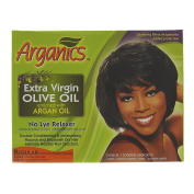 Arganics Double Conditioning & Moisturising No-Lye Relaxer Kit
