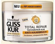 Gliss Kur 1 Min Complex with 19 Ingredients Anti HairBreakage Treatment