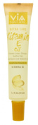 VIA Natural Ultra Care Vitamin E Oil Concentrated Natural Oil 45ml - Promotes Longer, Stronger, Healthier Hair, Adds Vitamins and Keratin To Hair