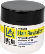 LA Hair Revitalizer Advanced Light Formula w/Vitamins A, D & E 120ml