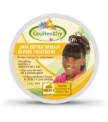 GroHealthy Shea Butter Damaged Hair Repair Treatment