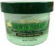 Lustrasilk Growth Therapy, Aloe Vera for Moisture Repair, 220ml
