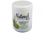 Dominican Hair Product Naturals Key Aloe Vera and Avocado Treatment Conditioner 470ml
