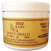 BABY DON'T BE BALD Gold Hair and Scalp Treatment 240ml