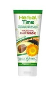 Nourishing Hair Mask Herbal Time, with Marigold and Avocado 200 Ml / 6.67 Oz