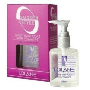 LOLANE SMOOTH & STYLE SHINY Hair COAT for Protect Split End Hair size 85ml..., Thailand