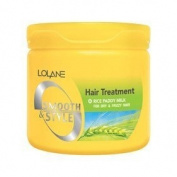 Lolane Smooth & Style Hair Treatment for Dry & Frizzy 250g.