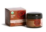 Organic Hair Treatment w/ Bulgarian Rose Oil, Aromatherapeutic