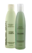 Healthy Hair Plus - Oily Hair and Scalp Kit - Hair conditioner (8oz) & Follicle/Scalp purifier
