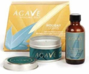 Agave Healing Oil Gift Set 60ml Healing oil with FREE Candle
