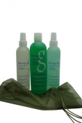 Therapy-G 3 Step System Kit (90 Day) for chemically treated hair - 3 products