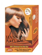 Hannah Natural 100% Chemical Free Hair Dye, Light Brown, 100 Gramme