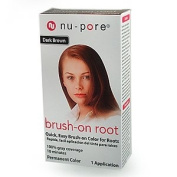 Nu-Pore Root EZ- Touch Dark Brown Colour