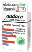 Audace Cream Hair Dry Nt.5 minute natural black 13g.., Thailand
