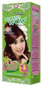 Just Modern Colourful WOW Hair Colour Permanent Hair Cream Dye Light Copper Brown J4..