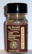My Secret Hair Enhancing Fibres Pure Medium Brown 12 grammes