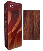 Berina Hair Dye Colour Cream A3 Red Brown 50ml.,