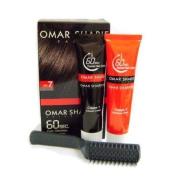 Omar Sharif 60sec Colour Cream #7 Black Brown